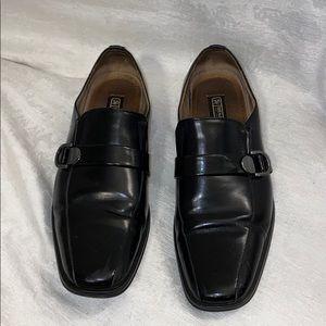 Stacy Adams black dress shoes